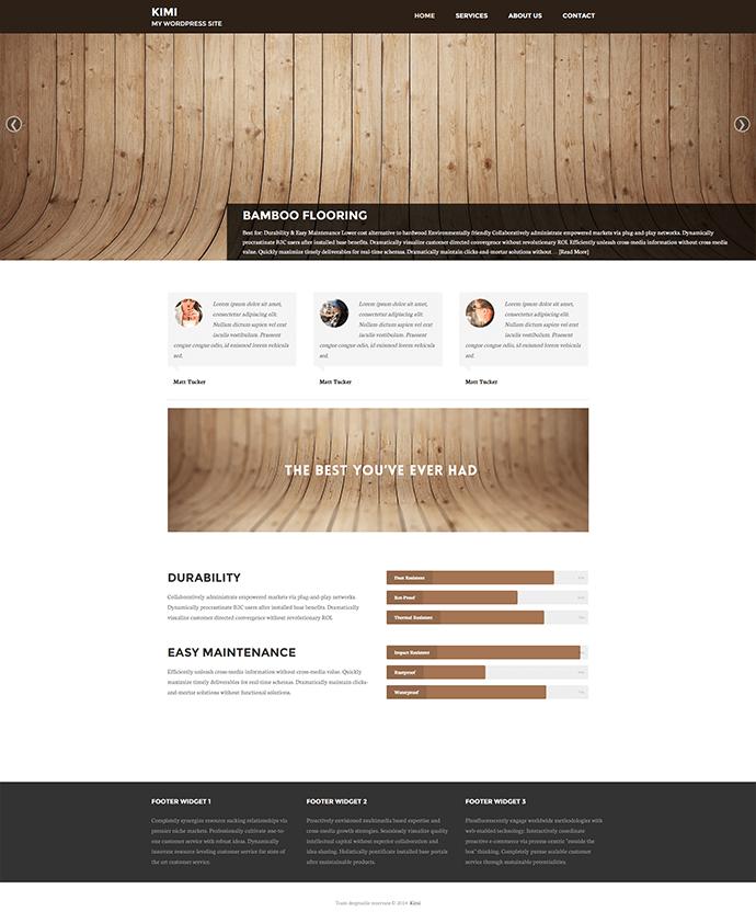 Cum transformi o tema WordPress de blog intr-una business