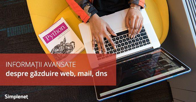 gazduire web mail dns